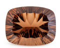 Gems:Faceted, Gemstone: Smoky Quartz - 50.71 Ct.. Brazil. 27.7 x 21.7 x 13.9mm. ...
