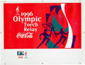 Miscellaneous Collectibles:General, 1996 Summer Olympics Plastic Banner....