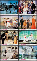 """Movie Posters:Fantasy, Mary Poppins (Buena Vista, R-1970s). British Front of House ColorPhotos (8) (8"""" X 10""""). Fantasy.. ... (Total: 8 Items)"""