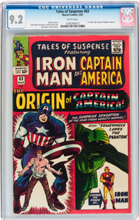 Tales of Suspense #63 (Marvel, 1965) CGC NM- 9.2 White pages