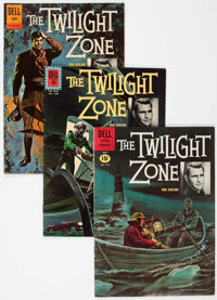 Twilight Zone Group of 5 (Dell, 1961-64).... (Total: 5 Comic Books)