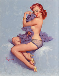 Gil Elvgren (American, 1914-1980) Roxanne, 1960 Oil on canvas 30 x 24 in. Signed lower left