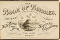 Books:Art & Architecture, [Cartoons]. The Book of Bubbles. A Contribution to the New YorkFair in Aid of the Sanitary Commission. New York...