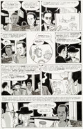 Original Comic Art:Panel Pages, Daniel Clowes Eightball #17 Story Page 10 Original Art(Fantagraphics, 1996)....