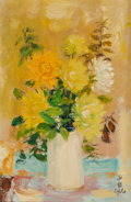 Paintings, Le Pho (French/Vietnamese, 1907-2001). Le vase blanc. Oil on canvas. 17-1/2 x 12 inches (44.5 x 30.5 cm). Signed lower r...