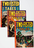 Golden Age (1938-1955):War, Two-Fisted Tales #25, 27, and 29 Group (EC, 1952) Condition:Average FN+.... (Total: 3 Comic Books)