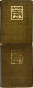 Books:Art & Architecture, Issued under the Direction of a Committee of Members. LIMITED. The Stock Exchange of Caricatures: A Private Collection o... (Total: 2 Items)
