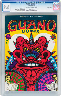 Guano Comix #4 Haight-Ashbury Pedigree (Print Mint, 1972) CGC NM+ 9.6 Off-white to white pages
