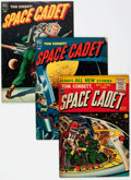 Golden Age (1938-1955):Science Fiction, Tom Corbett Space Cadet Group of 12 (Dell/Prize Publications,1952-55) Condition: Average VG+.... (Total: 12 Comic Books)