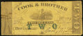 Obsoletes By State:Louisiana, New Orleans, LA-Cook & Brother $2 Jan. 1, 1862 . ...