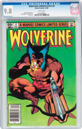 Modern Age (1980-Present):Superhero, Wolverine #4 (Marvel, 1982) CGC NM/MT 9.8 White pages....