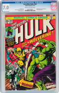 Bronze Age (1970-1979):Superhero, The Incredible Hulk #181 (Marvel, 1974) CGC FN/VF 7.0 Cream tooff-white pages....