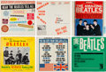 Music Memorabilia:Recordings, Beatles - Lot of Six Vintage LPs including One Signed by Pete Best(1964, 1965).... (Total: 5 Items)