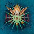 Music Memorabilia:Autographs and Signed Items, Arc Angels - Arc Angels Band Signed Promotional Album Flat(Geffen, 1992)....
