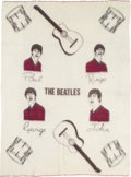 Music Memorabilia:Memorabilia, Beatles Vintage Wool Throw Blanket by Witney (UK, 1964). ...