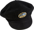 Music Memorabilia:Memorabilia, Beatles Kangol Cap, Black (UK, 1964)....