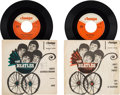 "Music Memorabilia:Recordings, The Beatles and Tony Sheridan - East German 45rpm Picture Sleeves""Ain't She Sweet / Cry For A Shadow"" (Amiga 4 50 466, 1964) ..."