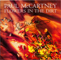 Music Memorabilia:Autographs and Signed Items, Beatles - Paul McCartney Signed Flowers in the Dirt GermanLP Cover (EMI Electrola 064 7916531, 1989). ...