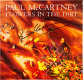 Music Memorabilia:Autographs and Signed Items, Beatles - Paul McCartney Signed Flowers in the Dirt AlbumDisplay. ...