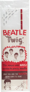 Music Memorabilia:Memorabilia, Beatles Vintage Twig Toy in Original Packaging (US, 1964)....