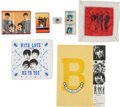 Music Memorabilia:Memorabilia, Beatles - International Group of Beatlemania Items (US, UK, andGermany, 1960s)....