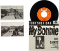 "Music Memorabilia:Recordings, Beatles - Tony Sheridan & The Beat Brothers ""My Bonnie/The Saints"" 7"" Single Reissue (Germany, Polydor 1024673, 1986) With Vin..."