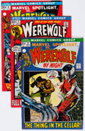 Bronze Age (1970-1979):Horror, Werewolf by Night Group of 6 (Marvel, 1972-73) Condition: AverageVF-.... (Total: 6 Comic Books)