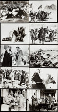 "Movie Posters:Academy Award Winners, Lawrence of Arabia (Columbia, 1962). Photos (23) (Approx. 7.5"" X9.5""). Academy Award Winners.. ... (Total: 23 Items)"