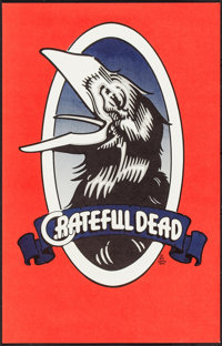 """Wake of the Flood (Grateful Dead Records, 1973). Album Poster (14"""" X 22""""). Rock and Roll"""