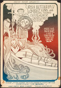 "Movie Posters:Rock and Roll, Iron Butterfly at Shrine Hall (Scenic Sound, 1968). Concert Poster(16"" X 23.25""). Rock and Roll.. ..."