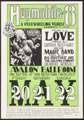 "Movie Posters:Rock and Roll, Love at Avalon Ballroom (The Family Dog, 1966). 2nd PrintingConcert Poster (14"" X 20""). Rock and Roll.. ..."