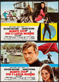 """Movie Posters:James Bond, Live and Let Die (United Artists, 1973). Italian Photobusta Set of 10 (18"""" X 26""""). James Bond.. ... (Total: 10 Items)"""