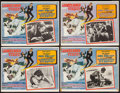 """Movie Posters:James Bond, On Her Majesty's Secret Service (United Artists, 1970). Mexican Lobby Card Set of 8 (12.75"""" X 16.5""""). James Bond.. ... (Total: 8 Items)"""