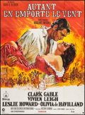 """Movie Posters:Academy Award Winners, Gone with the Wind (MGM, R-Late 1970s). French Grande (45.5"""" X 62""""). Academy Award Winners.. ..."""