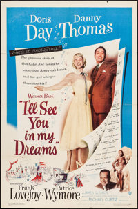 """I'll See You in My Dreams (Warner Brothers, 1952). One Sheet (27"""" X 41""""). Musical"""