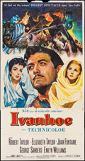 "Movie Posters:Adventure, Ivanhoe (MGM, 1952). Three Sheet (41"" X 79""). Adventure.. ..."