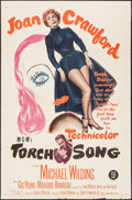 """Movie Posters:Romance, Torch Song (MGM, 1953). One Sheet (27"""" X 41""""). Romance.. ..."""