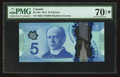 Canadian Currency: , BC-69a $5 2013. ...