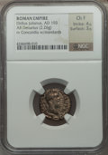 Ancients:Roman Imperial, Ancients: Didius Julianus (AD 193). AR denarius (2.26 gm)....