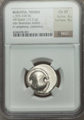 Ancients:Greek, Ancients: BOEOTIA. Thebes. Ca. 395-338 BC. AR stater (12.21 gm)....