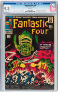 Silver Age (1956-1969):Superhero, Fantastic Four #49 (Marvel, 1966) CGC NM/MT 9.8 White pages....