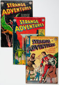 Silver Age (1956-1969):Science Fiction, Strange Adventures Group of 84 (DC, 1952-64) Condition: AverageGD-.... (Total: 84 Comic Books)