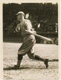 Baseball Collectibles:Photos, Circa 1921 New York Giants Service Photograph. Top quality image of Hall of Fame New York Giant Frank Frisch dating from ab...