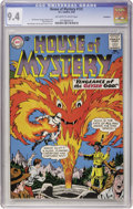 Silver Age (1956-1969):Horror, House of Mystery #131 Northland pedigree (DC, 1963) CGC NM 9.4Off-white to white pages....