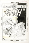 Original Comic Art:Covers, Ernie Chan - Flash #238 Cover Original Art (DC, 1975)....