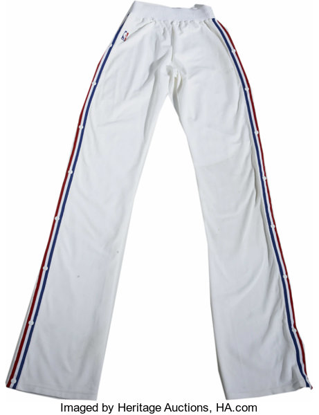 930659286 1990-91 Manute Bol Game Worn Warm-Up Pants. From the time that