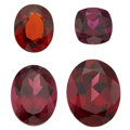 Estate Jewelry:Unmounted Gemstones, Unmounted Garnets. ...