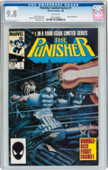 Modern Age (1980-Present):Superhero, Punisher (Limited Series) #1 (Marvel, 1986) CGC NM/MT 9.8 Whitepages....