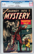 Golden Age (1938-1955):Horror, Journey Into Mystery #16 (Atlas, 1954) CGC GD/VG 3.0 Off-whitepages....
