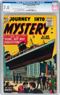 Silver Age (1956-1969):Horror, Journey Into Mystery #23 (Atlas, 1955) CGC FN/VF 7.0 Cream tooff-white pages....